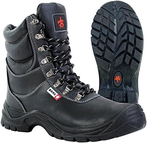 Seguridad de invierno botas de seguridad Magnus 8514 polar S3 CI botas de cordones de colour negro