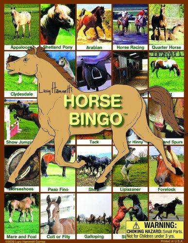 Lucy Hammet Bingo Juegos LH9177 caballo Bingo juego