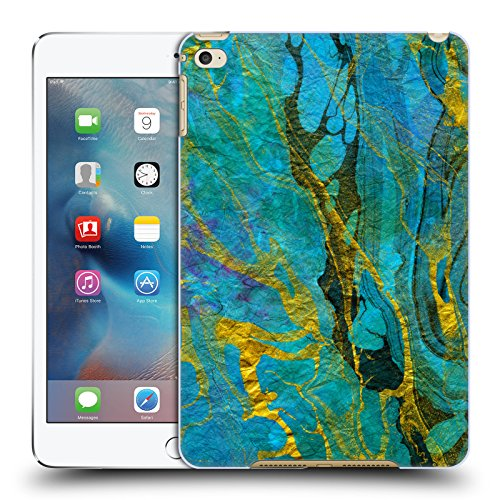 official-haroulita-yellow-teal-marble-hard-back-case-for-apple-ipad-mini-4