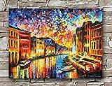 Huawuque Venedig Grand Canal Poster, Standardgröße, 45,7