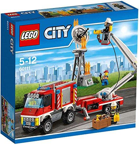 Lego city 60111 - camion die vigili del fuoco