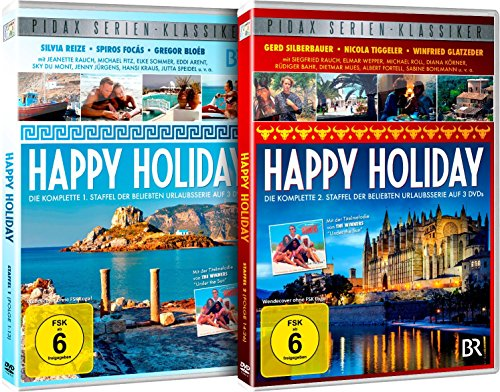 Happy Holiday Staffeln 1+2 (6 DVDs)