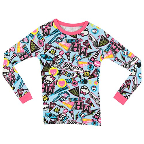 Image of Monster High Girls Monster High Pyjamas - Snuggle Fit - Age 11 to 12 Years