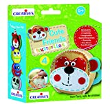 Creative Educational Aids P. Ltd. Stitching Kit - Cute Friends 4, Multi Color