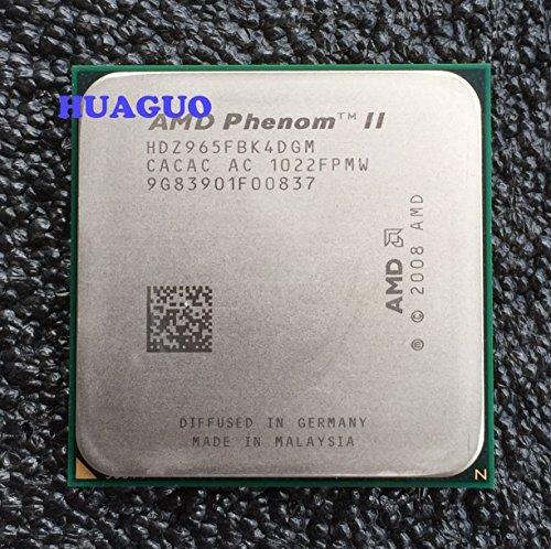 AMD Phenom II X49653,4GHz Quad-Core CPU Prozessor hdz965fbk4dgm Sockel AM3 Phenom Ii 945