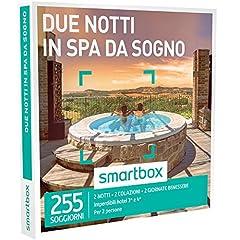 Idea Regalo - Smartbox - Cofanetto Regalo - DUE NOTTI IN SPA DA SOGNO - 255 soggiorni con benessere in hotel 3* e 4*