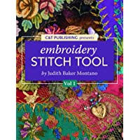 Judith Baker Montano's Embroidery & Crazy Quilt Stitch Guide- Beginners Vol. 1 for Amazon Android