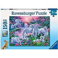 "Ravensburger 10021 7 ""Unicorns At Sunset"" Puzzle (150-Piece)"