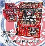 Panini - FC Bayern München - Stickerkollektion 2017/18 - 1 Starter + 10 Tüten
