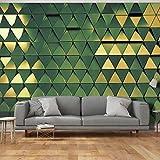 murando - Fototapete 3D Effekt 500x280 cm - Vlies Tapete -Moderne Wanddeko - Design Tapete - geometrisch Textur Metal f-A-0478-a-d
