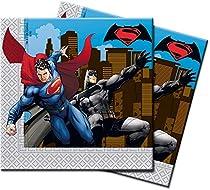Batman Vs Superman, Lot de 20serviettes en papier