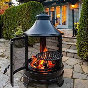 Northwest Sourcing Outdoor Cooking Fire Pit With