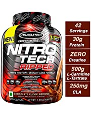 MuscleTech Nitrotech Ripped â 4 lbs, 1.81 kg (Chocolate Fudge Brownie)
