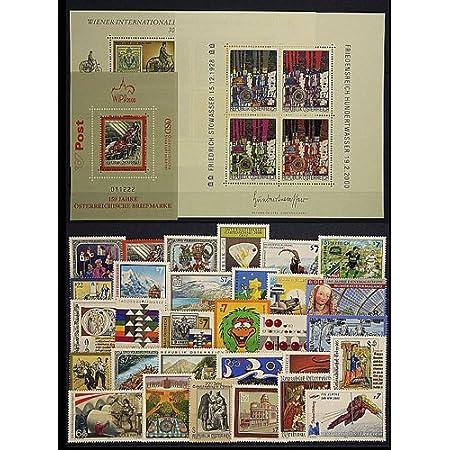 Goldhahn Österreich Jahrgang 2000 postfrisch ** Nr. 2302-2335 Block 13-15 Briefmarken für Sammler