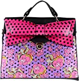 Iron Fist FIESTA SKULL Satchel 50s EMO Clutch BAG Handtasche Rockabilly