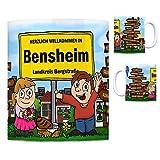 trendaffe - Herzlich Willkommen in Bensheim Kaffeebecher