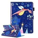 iPad Air/iPad 5 Hülle Leder Cover Ultradünn Tablet Schutzhülle [Auto Aufwachen/Schlaf Funktion] Magnetisch Flip Case