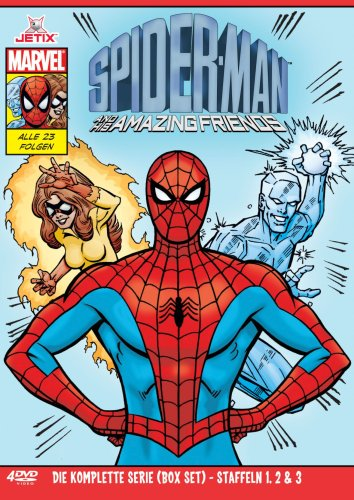 Spider-Man and His Amazing Friends - Die komplette Serie - Box [4 DVDs] (Friends Die Komplette Serie Dvd)