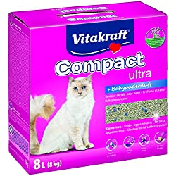Vitakraft 16079 Compact Ultra Plus pour chat 8 kg