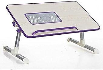 YFXOHAR Multifunctional Folding Laptop Table Fan Desk Bed Cooling Fan Can Lift The Leg Adjustable Notebook