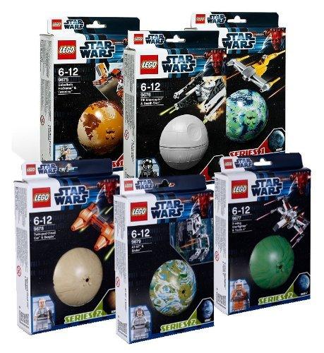 Lego Star Wars 6-er Set 9674, 9675, 9676, 9677, 9678, 9679
