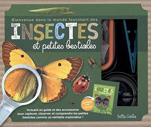 Coffret insectes et petites bestioles par Collectif