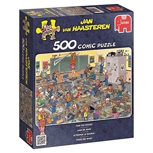 Jumbo - Puzzle Find the Mouse, 500 piezas (617280)