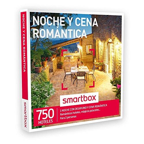 SMARTBOX – Caja Regalo – NOCHE Y CENA ROMÁNTICA – 750 románticos hoteles, mágicos palacetes, casonas en plena naturaleza