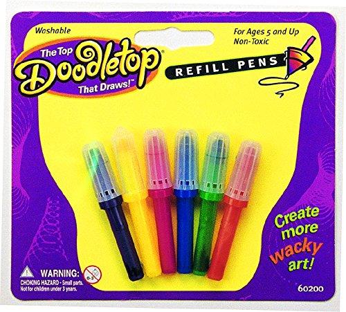 university-games-60200-doodletop-refill-pens