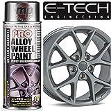 MP Essentials PRO 400ml Aerosol Spray Alloy Wheel Refurbish, Refresh & Customise Paint - Various Colours Available (Metallic Graphite)