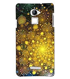 Fuson Designer Back Case Cover for Coolpad Note 3 Lite :: Coolpad Note 3 Lite Dual SIM (Sparkle designer theme)
