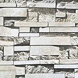 VORCOOL Adesivi Mattoni e Pietra 3D da parete per decorazioni di 60x100 cm