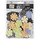 Prima Marketing Forever grün Blumen, 1,25Zoll von 2Zoll, Papier Spore, 36Stück