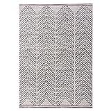 SESO UK Nordischer Artteppich moderner unbedeutender kurzhaariger Teppich für Schlafzimmernacht Wohnzimmer, dick: 1cm, grau (größe : 133cm×190cm)
