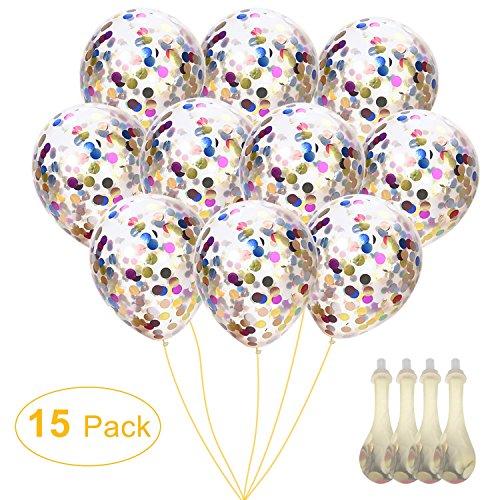 WEBSUN 12 '' Konfetti Ballons fü...