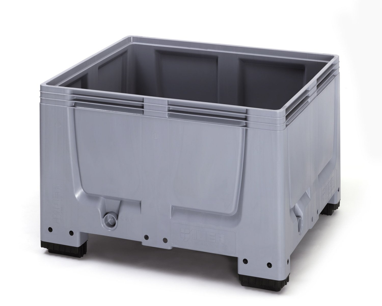 1x Auer Big Box 120x100x79 * Palettenbox * Großbox * Bigbox 120×100 * Paletten Behälter groß