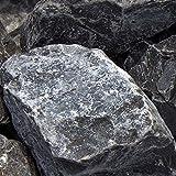zierkiesundsplitt Ardennen Grau Gabionensteine Bruchsteine 250kg Big Bag 60-90mm
