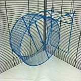 Package Pets Running Exercise Wheel With Close-Knit Tread and Cage Hooks (28 cm)