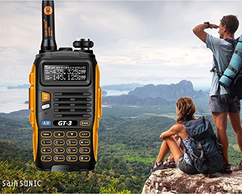 Baofeng BF GT-3 - Ricetrasmittente walkie-talkie Dual-Band DTMF RX CTCSS/DCS BCLO