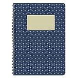 etmamu 597 Notizblock Muster Japan Nr. 1 A5, 60 Blatt liniert