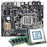 Intel Core i3-7100 / ASUS H110M-A/M.2 Mainboard Bundle / 8192 MB | CSL PC Aufrüstkit | Intel Core i3-7100 2x 3900 MHz, 8 GB DDR4, Intel HD Graphics 630, GigLAN, 7.1 Sound, USB 3.1 | Aufrüstset | PC Tuning Kit