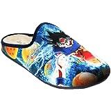 Vulcabicha 1820 - Zapatillas de Estar por Casa de Hombre con Dibujo de Goku Bola de Dragon
