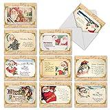 Weihnachtsfest Rhymes Weihnachten Funny Grußkarte 10 Assorted Christmas Note Cards (SKU:M10041XS) 10 Assorted Christmas Note Cards (SKU:M10041XS)