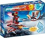 PLAYMOBIL 6835 - Firebot mit Disc-Sho...