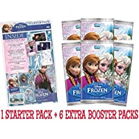 Official Disney Frozen trading card game starter binder pack + 6 extra booster packets