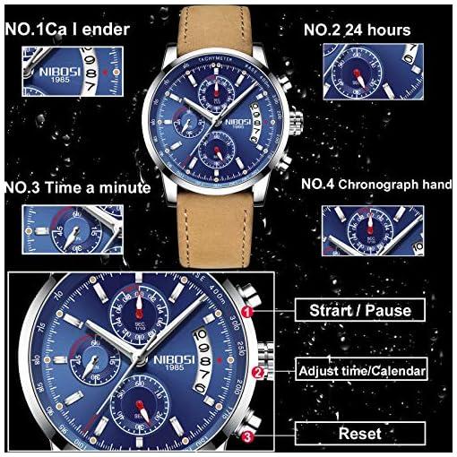 496314521411 Relojes Hombre Relojes de Pulsera de Lujo Marea Cronometro ...