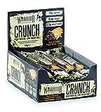 Warrior Crunch Bar Low Carb Protein Riegel Proteinbar Eiweiß Eiweißriegel 12x64g (Dark Choco Peanut Butter - Dunkle Schoko Erdnussbutter)