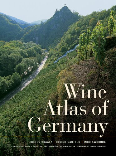 Wine Atlas of Germany por Dieter Braatz