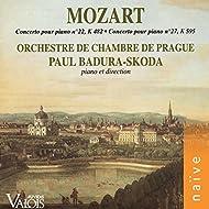 Mozart: Concertos pour piano Nos. 22 & 27
