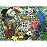Royal & Langnickel Painting by Numbers Artist Canvas Series Zoo Montage Large Designed Painting Set